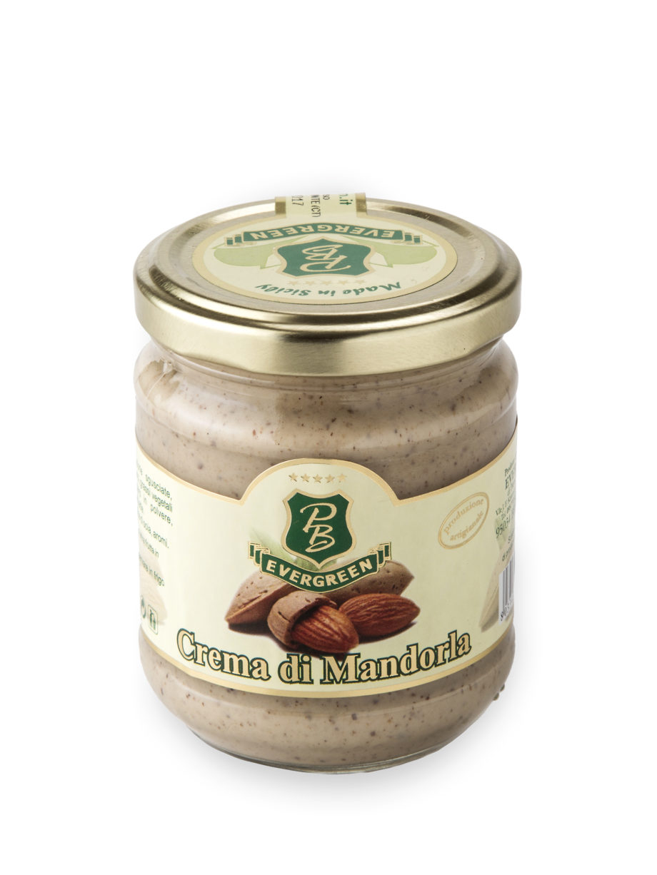 Crema di Mandorle Siciliane da 190Gr.
