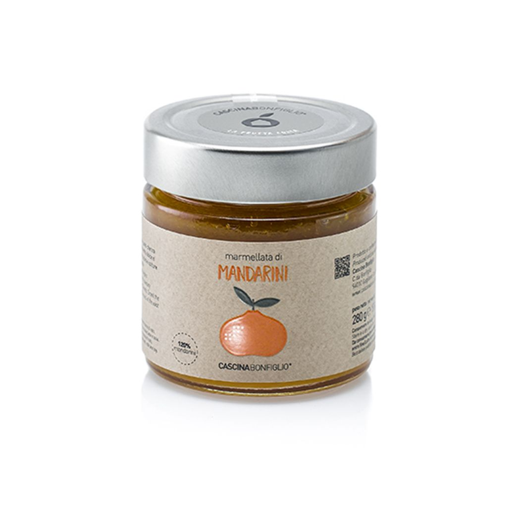 Marmellata di Mandarini 280Gr
